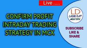 Mcx Charts With Technical Indicators Confirm Profit Intraday Trading Strategy In Mcx Technical