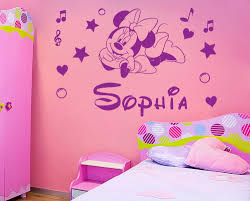 Minnie Mouse Wallpaper For Bedroom Minnie Mouse Wall Stickers Winda 7 Furniture