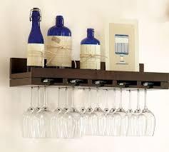wine glass rack pottery barn. Unique Pottery Holman Entertaining Shelves Pottery Barn And Wine  Glass Rack Shelf On D