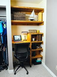 closet office desk. Labeled: Home Office Closet Desk. Desk