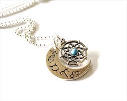 Zodiac Dream Catcher New Moon Dream Catcher Necklace Zodiac Star Sign Jewelry Astrology