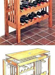 Wine Racks Lattice Wine Rack Plans Large Size Of Fantastic Wine