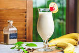 banana and rum smoothie  alcoholic