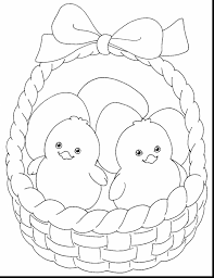 Small Picture Printable 27 Cute Easter Chick Coloring Pages 12098 Impressive