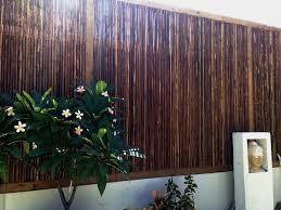 Image of: Bamboo Screen Outdoor Style