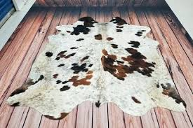 cowhi rug tricolor black brown and white by inch brazilian cowhide rugs whole brown and white cowhide rug x by brazilian rugs authentic medium