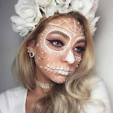 pretty day of the dead skeleton for 23 pretty makeup ideas