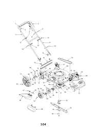 bolens model 12a 526l163 walk behind lawnmower gas genuine parts rh searspartsdirect bolens riding mower repair manual bolens lawn mower parts manual