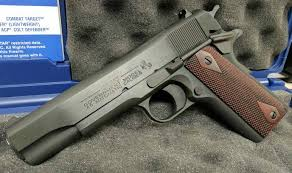 1911 Pistol Comparison Chart Gun Review Colt 1911 Government Series 80 45 Acp The