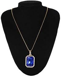 images gallery fashion gold chain with ruby pendant