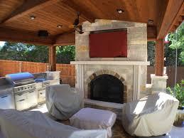 austin outdoor fireplace austin decks pergolas covered ideas hanging
