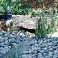 Small Picture Garden Project How to Create a Dry Creek from BHGcom