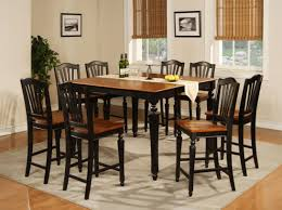 7 piece black dining room set. 3pc Black Love Dining Table Set With 2 Chairs Room Wood 7 Piece