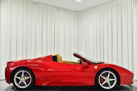 The 2014 ferrari 458 spider is beautiful to behold, brilliant to drive, and truly one of the few supercars in the world that is controllable and livable. Used 2014 Ferrari 458 Spider For Sale Sold Marshall Goldman Beverly Hills Stock B21280