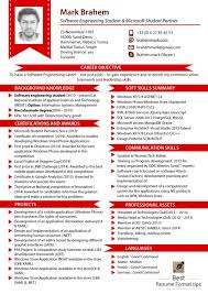 Example Resumes 2016 Template Resume Builder