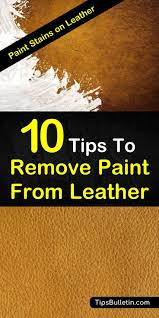 learn how to get simple diy paint stain removers for leather with baking soda and vinegar