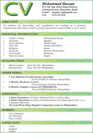 Good Cv Resumess Memberpro Co Format For A Student Best Formats