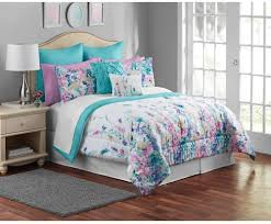 mainstays multicolor floral piece bedding comforter set