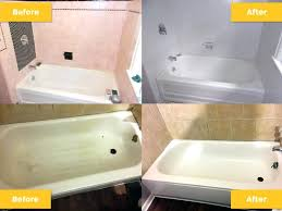how to refinish a bathtub shower tub and tile klenks paint