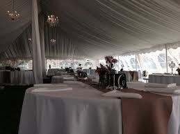 40 80 pole tent with liner really compliments the crystal chandeliers we just loved this rustic elegant wedding set up of course we had the essentials