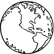 Small Picture Coloring Pages Earth Stencil Printable coloring page