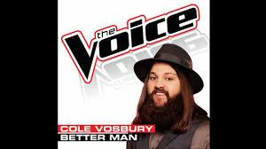 Itunes Top 100 Chart The Voice Cole Vosbury Better Man Studio Version The Voice 5