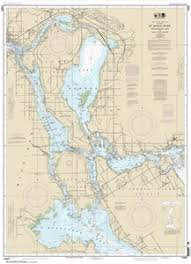 14883 St Marys River Munuscong Lake To Sault Ste Marie Nautical Chart