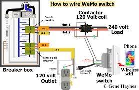 control 240 volt wemo 120 volt outlet has hot and neutral wires as illustrated 3 prong extension cord also has hot and neutral