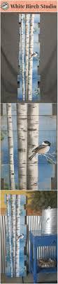 Pallet Art White Birch Pallet Art Pine Tree Reclaimed Wood Pallet Art Tall