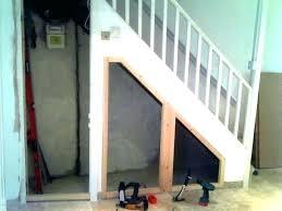 basement stairs storage. Under Stair Closet Ideas Shelves Basement Stairs Storage Building Stora S