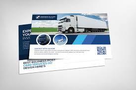Transport Business Postcard