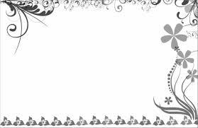 Card Frame Design Wedding Card Border Design Vector Png Clip Art Library