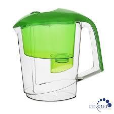 Фильтр - <b>кувшин Гейзер Вега</b>, <b>зелёный</b> 62040 - купить, цена ...