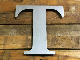 metal craft letters craftcuts com font times new roman bold attached to custom board by customer galvanized