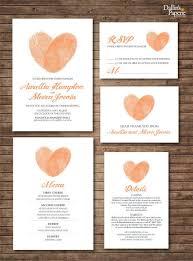 129 best wedding printables images on pinterest wedding Wedding Invitations Cairns Qld wedding invitation printables finger print heart by dallinspaperie, $40 00 Cairns Australian Tourism