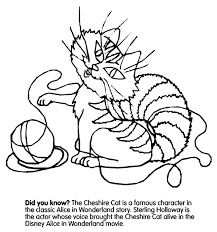 Small Picture Cheshire Cat Coloring Page crayolacom
