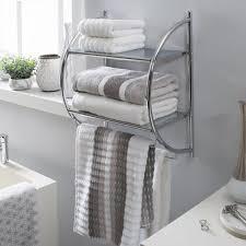 neu home 2 tier 2 towel bar wall mount