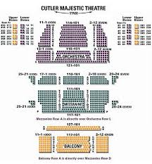 Majestic Theatre New York City Seating Chart