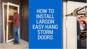 front screen door installation. how to install larson storm doors maxresdefault full size front screen door installation