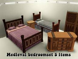 awesome medieval bedroom furniture 50. Medieval Bedroom With 5 Pieces Of Furniture Awesome 50 S