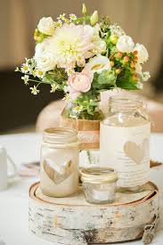 Glass Jar Table Decorations