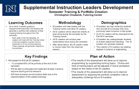 learning outcomes assessment student services division 3 supplemental instruction