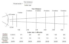 Snellen Eye Test Charts Interpretation Precision Vision