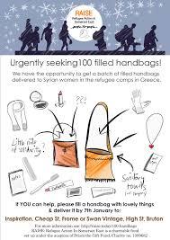 100 handbags raise