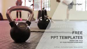 Fitness Trainer Sports Powerpoint Templates