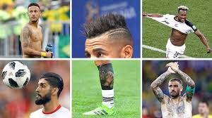 Fotogalerie Fotbalisty Na Letošním šampionátu Zdobí účesy I Tetování