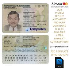 Card Template German Id -