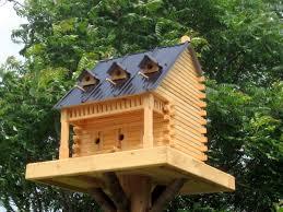wooden fancy bird house plans