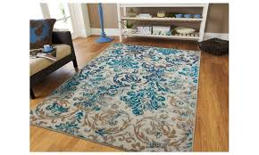antique distressed area rug 5x8 fl area rugs 5x7 living room rugs groupon