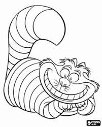 Small Picture Drawn cheshire cat coloring page Pencil and in color drawn